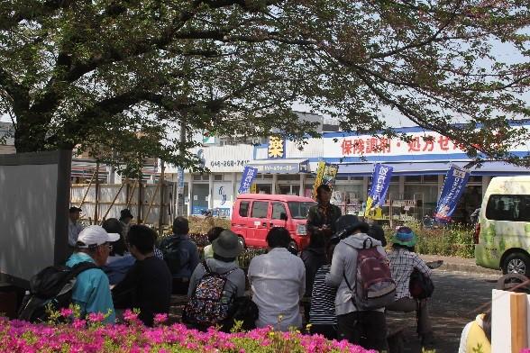 桜ヶ丘駅東口前オリエンテーション
