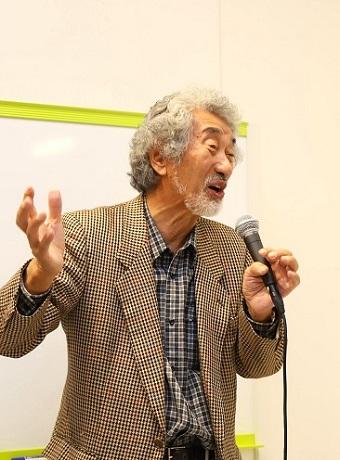 畠山さんの講演